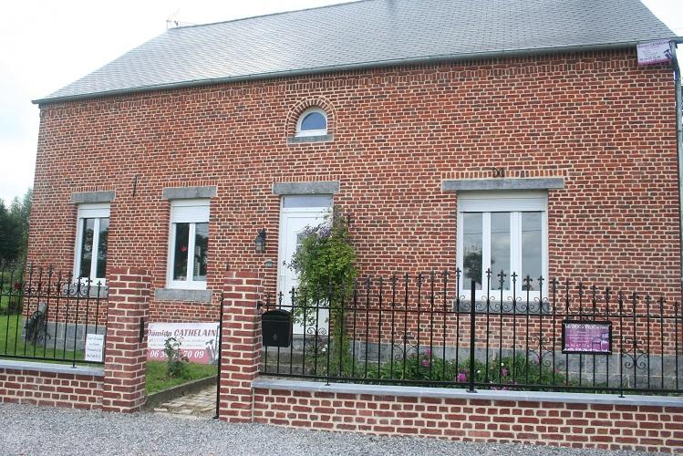 Pergola cr ation terrasse en bois sur cambrai saint for Linge de maison cambrai