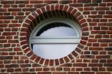Fenêtre Oeil de boeuf dans le Nord